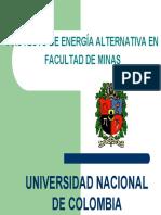 Proyecto de Energía Alternativa - UNAL