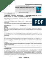 4. Adjustable Horseshoe Headrest as a Positioning Adjunct in Airway. HENDRIKO.pdf