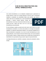 RESUMEN SIMULACIÓN DE UN CICLO BRAYTON PARA UNA CENTRAL TERMOELÉCTRICA