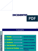 INCIDENTES
