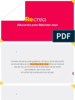 ReCrea Jalisco | Educando Para Refundar 2040