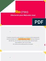ReCrea Jalisco | Educando Para Refundar 2040