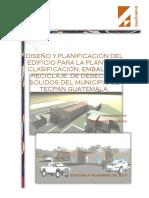 DISEÑO Y PLANIFICACIÓN DEL  edificio para la planta de clasificacion, embalaje y reciclaje.pdf