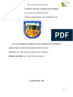 Plan de Comercio Internacional PDF