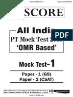 01 GS SCORE OPEN MOCK TEST-1 GS TEST.pdf