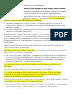 Influencia Del Bilingüismo en La Tasa Desarrollo Del Lenguaje