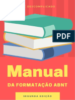 Manual Da Formatação ABNT