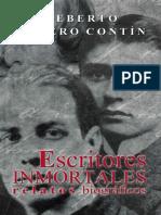 Escritores inmortales. Relatos - Heberto Gamero Contin.pdf