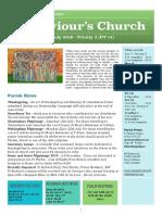 st saviours newsletter - 7 july 2019 - ot14
