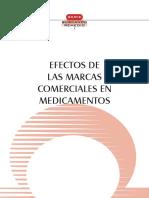 Efectos de las Marcas comerciales en medicamentos