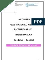 Informe General Identidad 2010