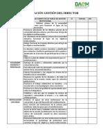 Pauta Evaluación Director 2018