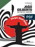 O Concerto de João Gilberto No Rio de Janeiro