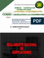 reglamento y HU