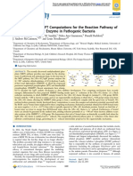 Broken-Symmetry DFT Computations for the Reaction Pathway of IspH, an Iron−Sulfur Enzyme in Pathogenic Bacteria