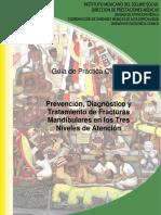 Prevención, Diagnóstico y Tratamiento de Fractura Mandibular
