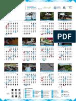 Calendario Ambiental - Caquetagua - 2019