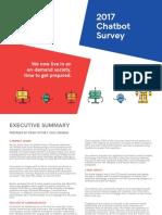 Ubisend Chatbot Survey 2017 v2