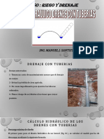 Diseño Hidraulico Diametro de Tuberias