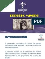 Derecho minero presentacion