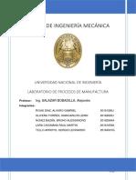 MOLDEO Y COLADA EN EL PROCESO DE FUNDICIÓN