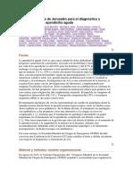 WSES Directrices de Jerusalén para el diagnóstico y tratamiento de la apendicitis aguda.docx