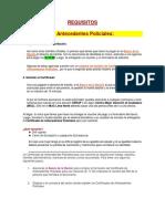 REQUISITOS Certif.antecedentes