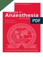 anestesia update