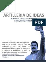 ARTILLERIA DE IDEAS 05JUl19