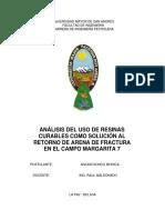 Analisis de Resinas en Bolivia