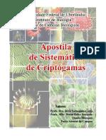 Apostila - Sistemática de Criptógamas [UFU].pdf