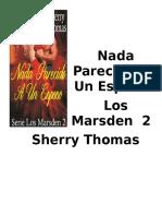 Thomas Sherry - Los Marsden 02 - Nada Parecido a Un Esposo