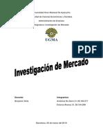 Ensayo Inv. de Mercado