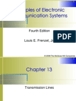 Chapter13. Transmission Lines C. Transmission Lines as Circuit Elements