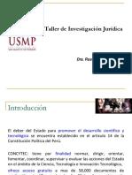 taller de investigación juridica