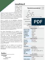 Tetrahidrocanabinoides