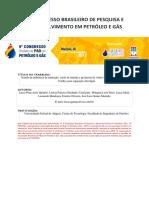 Estudo da influência da saturação, vazão de entrada e geometria de vortex finder de um hidrociclone bradley para separação óleo/água