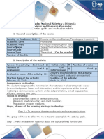 Activities Guide and Evaluation Rubric - Step 2 - To Recognize the Electrodynamic and Waves Applications