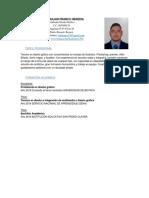 Fredy Julian Franco Heredia