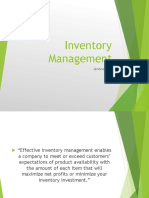 MBAInventory Management