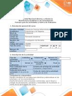 Guía de actividades y rúbrica de evaluación - Paso 2 - Diseño exploratorio de la investigación.docx