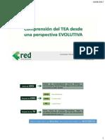Comprensión Del TEA Desde La Perspectiva Evolutiva 2017, Curso at TEA
