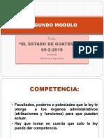 3. El Estado de Guatemala (Competencia y Sus Clases)