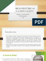 Teorías Históricas de La Educación