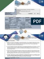 Guía y rubrica de evaluación