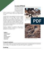 Industria Minera en El Perú