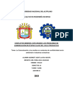 Conflictos Mineros - Prolemas De Comunicacion.docx