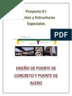 PROYECTO Parte I Puentes y Estructuras Especiales
