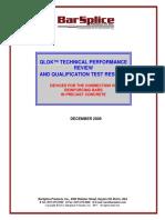 QLOK Tech Perf Rev and Qual Test Reslts Dec-09