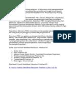 Formulir identifikasi kebutuhan pelatihan K3 digunakan untuk mengidentifikasi pelatihan.docx